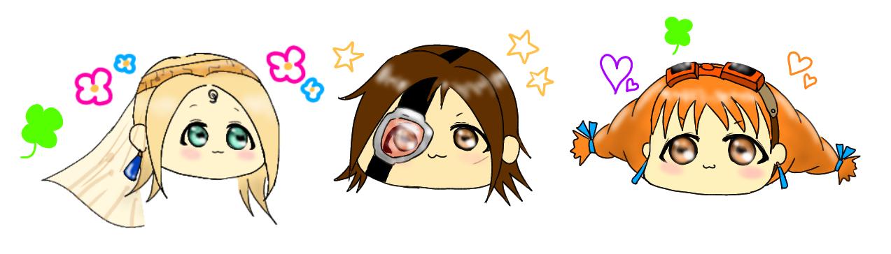 もちっとかわいい3人組 Twitter@Aikawa_15_